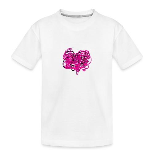 delicious pink - Teenager Premium Organic T-Shirt