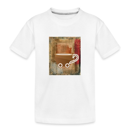 vintage coffee - Teenager Premium Bio T-Shirt
