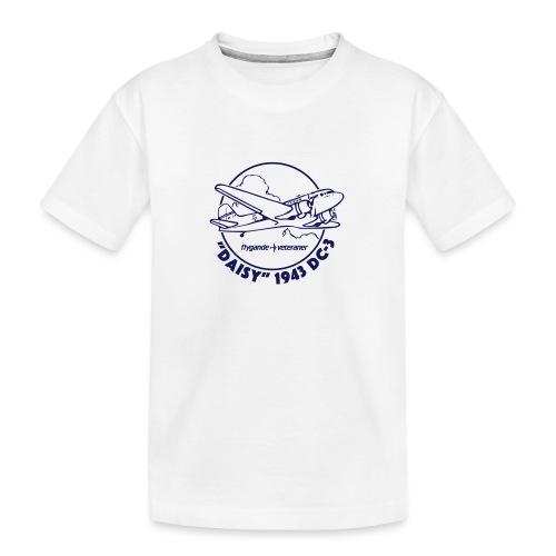 Daisy Clouds 1 - Ekologisk premium-T-shirt tonåring
