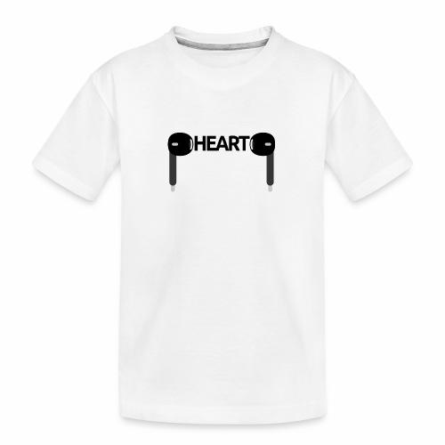ListenToYourHeart - Ekologiczna koszulka młodzieżowa Premium