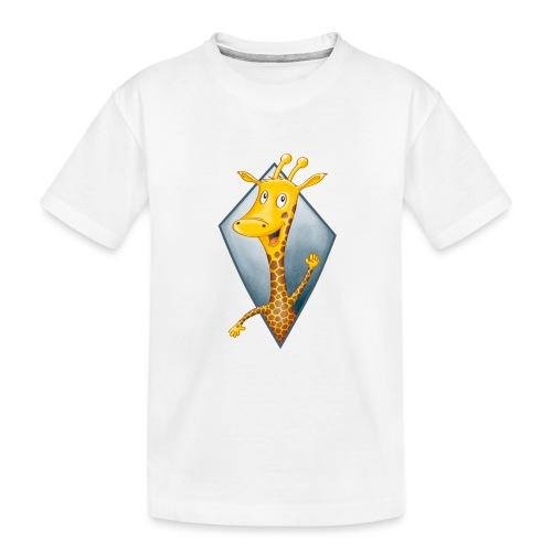 crazy Giraffe - Teenager Premium Bio T-Shirt