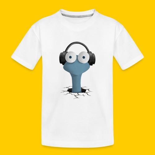 Musicworm - Ekologisk premium-T-shirt tonåring