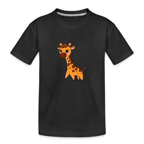 Mini Giraffe - Teenager Premium Organic T-Shirt