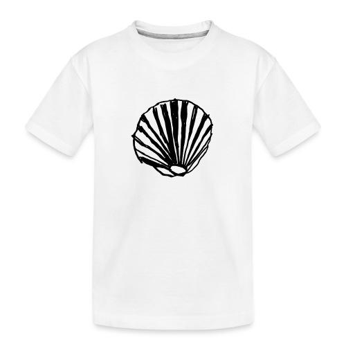Concha - Camiseta orgánica premium adolescente