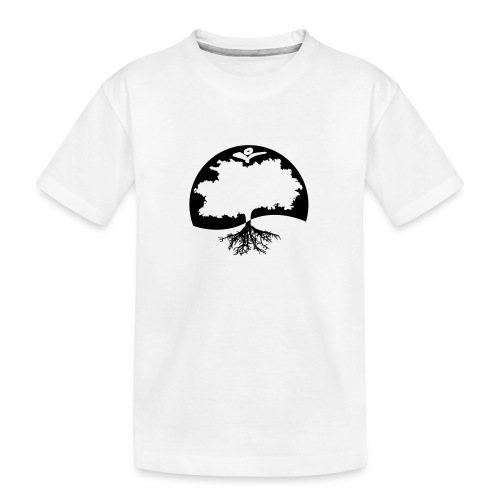 Naturals Logo Grafik - Teenager Premium Bio T-Shirt