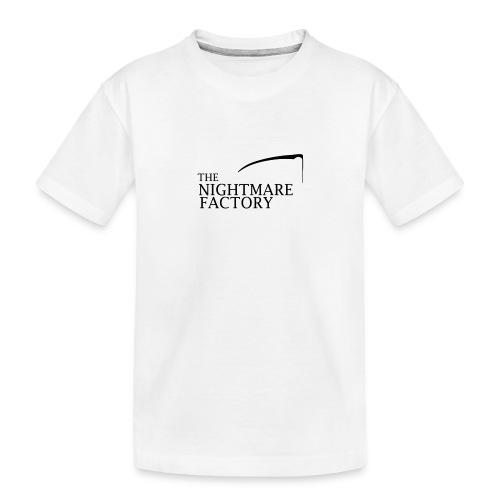 nightmare factory Nero png - Teenager Premium Organic T-Shirt