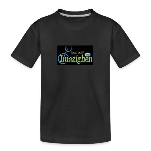 Imazighen ithran rif - Teenager premium biologisch T-shirt