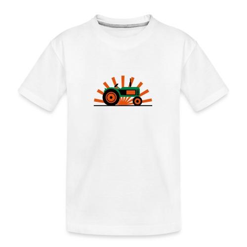 TRAKTOR - Ekologisk premium-T-shirt tonåring
