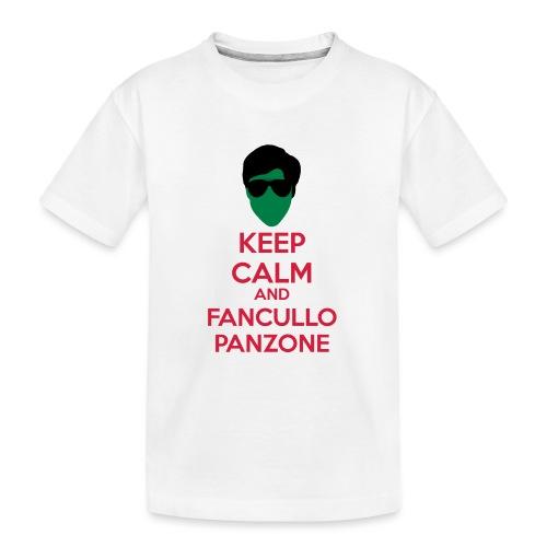 Fancullo panzone Keep Calm - Maglietta ecologica premium per ragazzi
