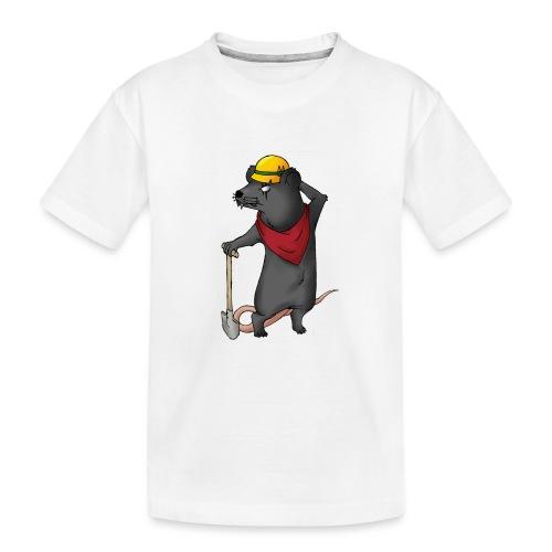 Arbeiter Ratte - Teenager Premium Bio T-Shirt