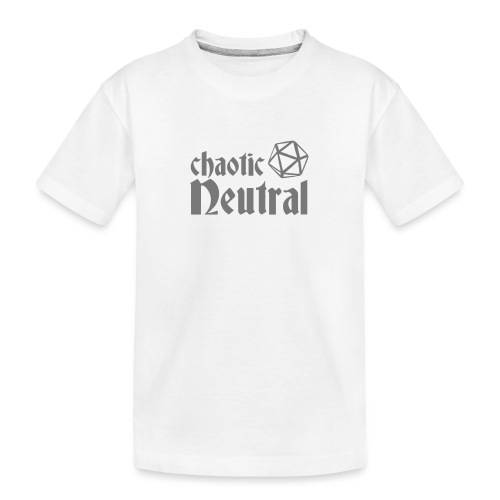 chaotic neutral - Teenager Premium Organic T-Shirt