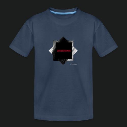 New logo t shirt - Teenager premium biologisch T-shirt