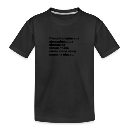 BOKTIPSET - Ekologisk premium-T-shirt tonåring