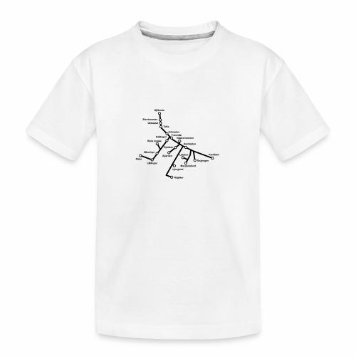 Lisch Tisch Hoods - Ekologisk premium-T-shirt tonåring