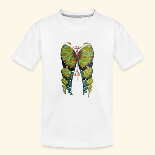 Fibonacci butterfly - Maglietta ecologica premium per ragazzi
