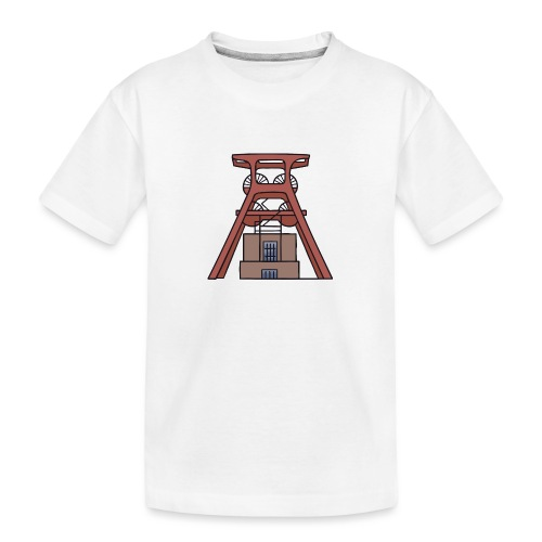 Zeche Zollverein Essen c - Teenager Premium Bio T-Shirt