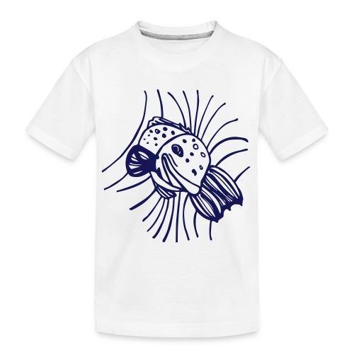 pesce1 - Maglietta ecologica premium per ragazzi