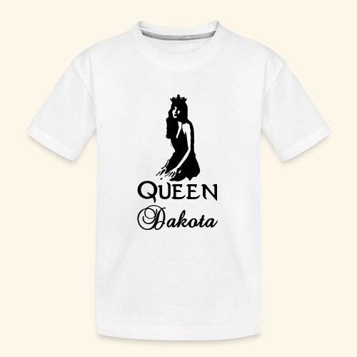Queen Dakota - Teenager Premium Organic T-Shirt