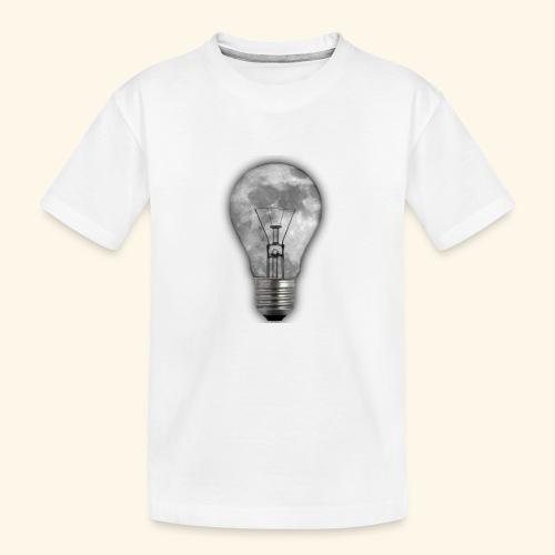 moon bulb - Camiseta orgánica premium adolescente