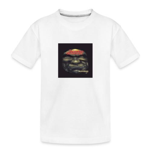 Hoven Grov knapp - Teenager Premium Organic T-Shirt