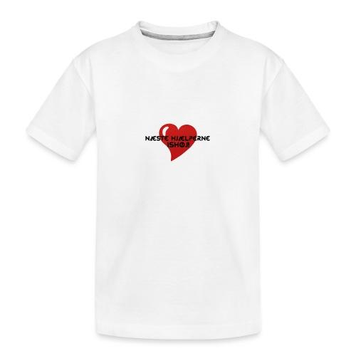 Næste-Hjælperne-Ishøj - Teenager premium T-shirt økologisk