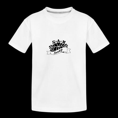 SamShaky - Teinien premium luomu-t-paita