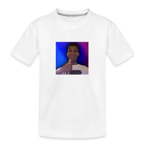 hirkoGamer - Premium økologisk T-skjorte for tenåringer
