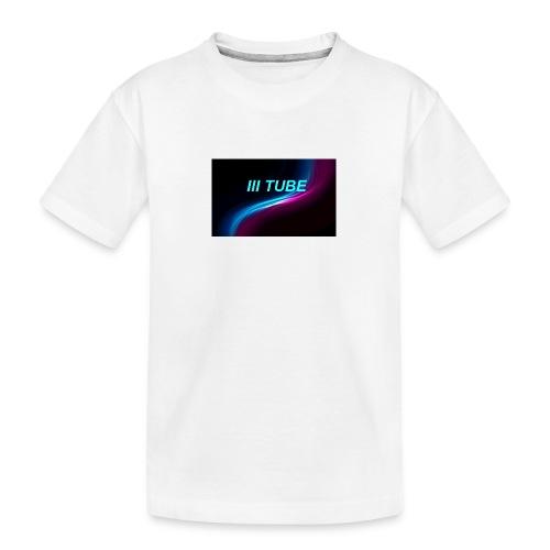 logo - Teenager premium biologisch T-shirt