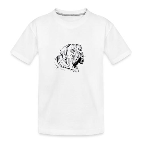 BULDOG Portrait animalier - T-shirt bio Premium Ado