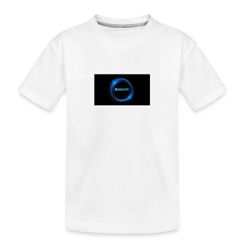 SamLocoClothing - Premium økologisk T-skjorte for tenåringer