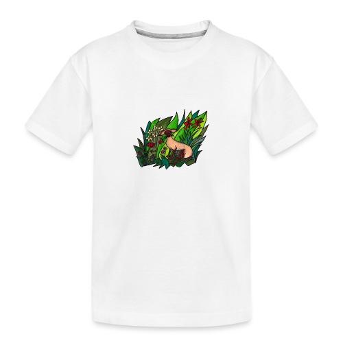 Funtes trädgård - Ekologisk premium-T-shirt tonåring