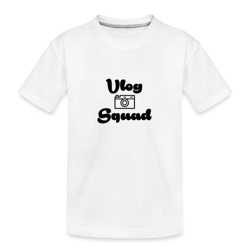 Vlog Squad - Teenager Premium Organic T-Shirt