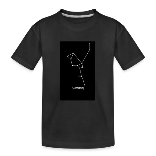 SAGITTARIUS EDIT - Teenager Premium Organic T-Shirt