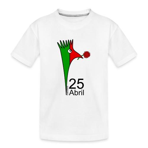 Galoloco - 25 Abril - Teenager Premium Bio T-Shirt