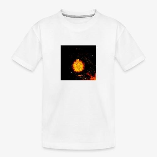 FIRE BEAST - Teenager premium biologisch T-shirt