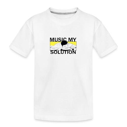 MUSIC MY SOLUTION - T-shirt bio Premium Ado