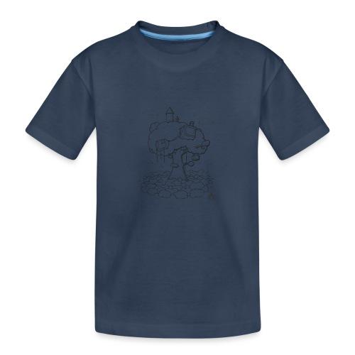 Cabane dans un arbre Sketch Line - T-shirt bio Premium Ado