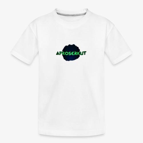 AfroSerkut LOGO - Teinien premium luomu-t-paita