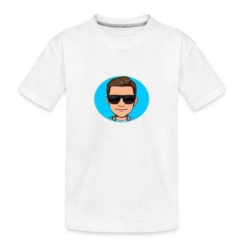 logo yt ttv - Teenager premium biologisch T-shirt