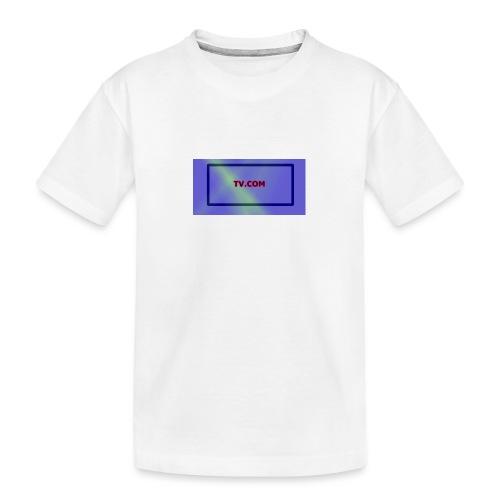 TV.COM - Teinien premium luomu-t-paita