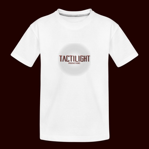 Tactilight Logo - Teenager Premium Organic T-Shirt