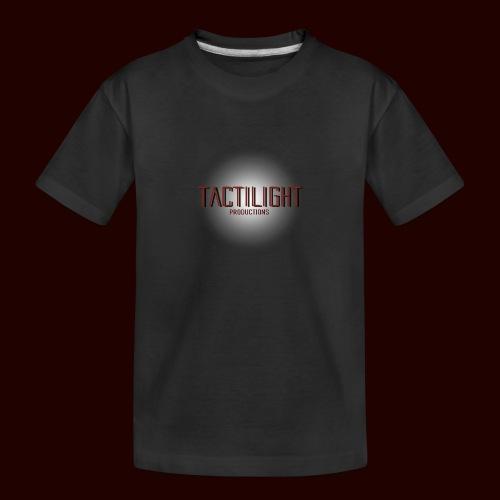 Tactilight Logo - Teenager Premium Organic T-Shirt