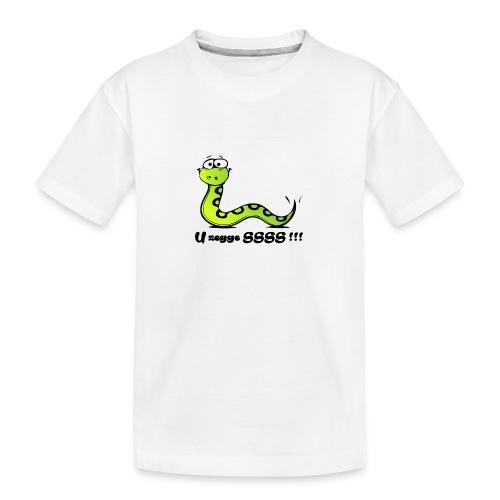 U zegge SSSS !!! - Teenager premium biologisch T-shirt