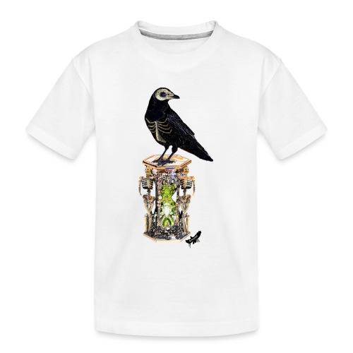 'Memento Mori' by BlackenedMoonArts - Teenager premium T-shirt økologisk