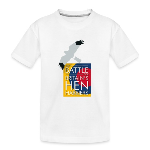 New for 2017 - Women's Hen Harrier Day T-shirt - Teenager Premium Organic T-Shirt