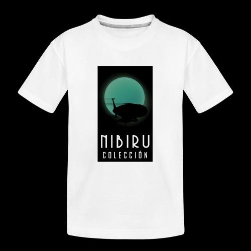 colección Nibiru - Camiseta orgánica premium adolescente