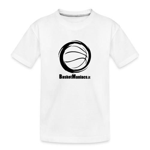 Basket Maniacs - Maglietta ecologica premium per ragazzi