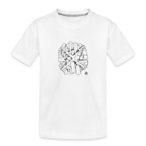 croix en perspective - T-shirt bio Premium Ado