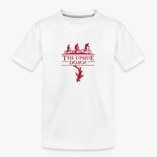 upside down - Ekologiczna koszulka młodzieżowa Premium