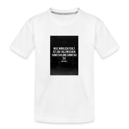 king - Teenager Premium Bio T-Shirt